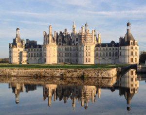 Chateau Chambord in the Loire River Valley