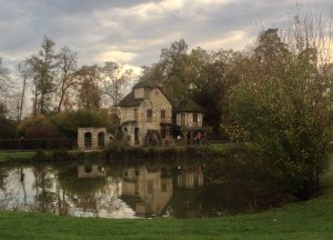 Marie Antoinette's Hamlet on the grounds of Versailles.